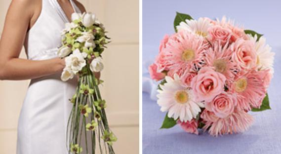 Red Gladiolus Wedding Bouquet Spring Wedding Flowers