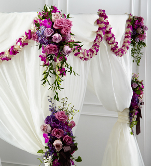 Best Flowers For Chuppah S And Wedding Arches Masseys